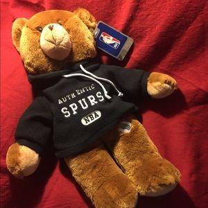 San Antonio spurs plush teddy bears